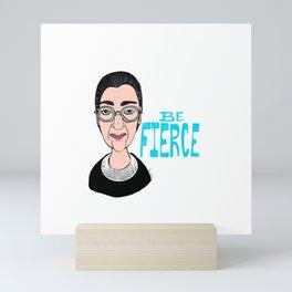 Fierce RBG Mini Art Print