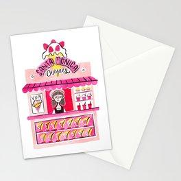 Santa Monica Crepes Stationery Cards