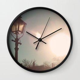 The Sun Stays the Same Wall Clock