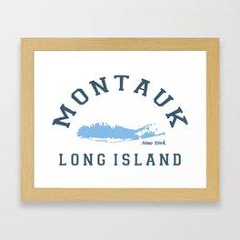 Montauk -Long Island. Framed Art Print
