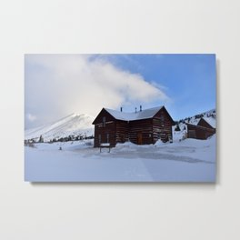 Section House hut Metal Print