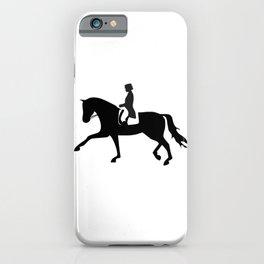 Dressage Rider iPhone Case