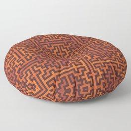 Autumn colors sayagata Floor Pillow
