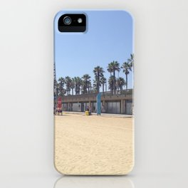 Barcelona Olympic Beach iPhone Case
