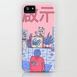 NEON ASIA PINK EDITION iPhone Case