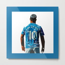 Aguero Illustration Metal Print
