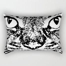 Cat Face #6a Rectangular Pillow