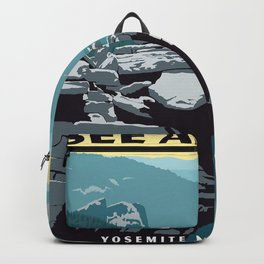 See America, Yosemite National Park Backpack