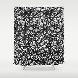 Grunge Art Abstract  G59 Shower Curtain