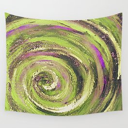 Spiral nature Wall Tapestry