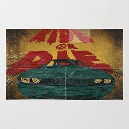 MEKANO TURBO/ride or die poster Rug