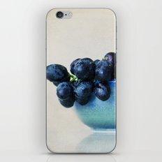 Grapes iPhone & iPod Skin