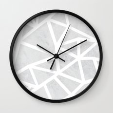 Ab Marble Zoom Wall Clock