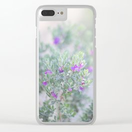 Sage in the desert Clear iPhone Case