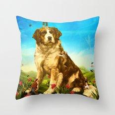 Our Giant Mascot Throw Pillow