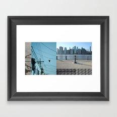 Up / Down / Across Framed Art Print