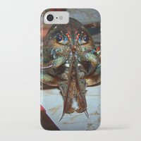 lobster iPhone & iPod Cases featuring Lobster by DanByTheSea