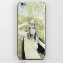 Green Goddess iPhone Skin