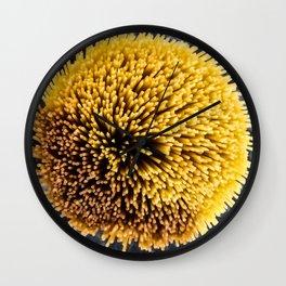 Spaghetti pompom Wall Clock