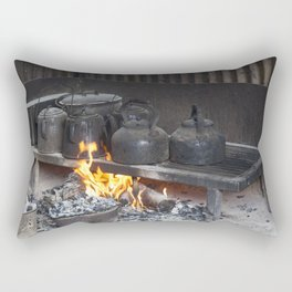 Camp oven Rectangular Pillow