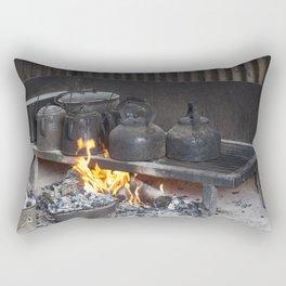 Camp oven Rectangular Pillow