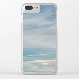 Mini Morning Rainbow Clear iPhone Case