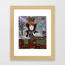 High Tea With Friends Framed Art Print