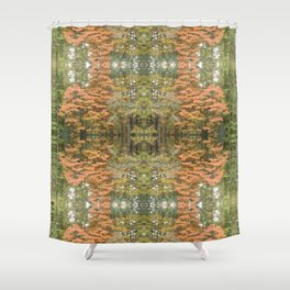 Autumnal Pattern Shower Curtain