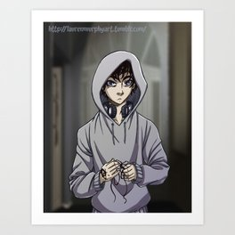 Tiberius Blackthorn Art Print