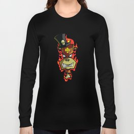 Trick Monkey - Voodoo Witch Doctor Long Sleeve T-shirt