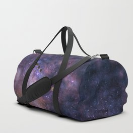 Abstract Outer Space Traveler Duffle Bag