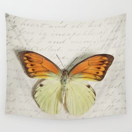 Hebomoia Glaucippe Lepidoptera Wall Tapestry