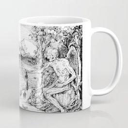 3 women bathing Coffee Mug