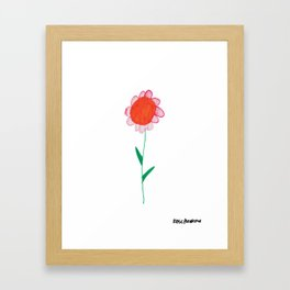 Flower 12 Framed Art Print