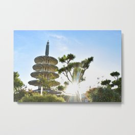Shot in Japantown Metal Print