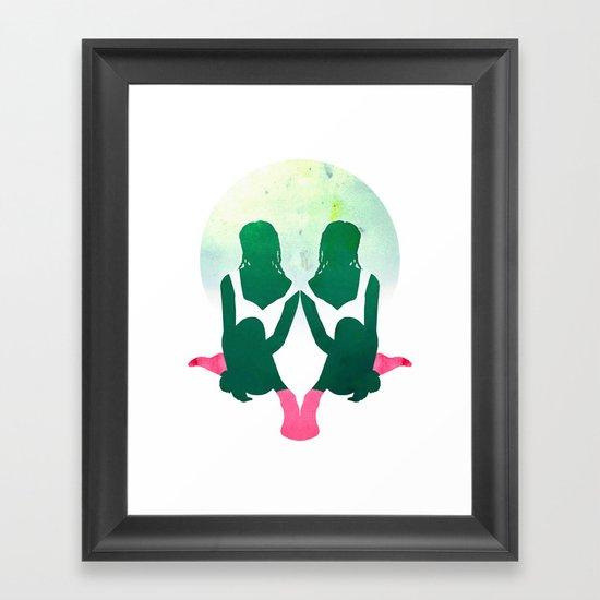 Summer Socks Framed Art Print