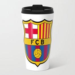 FCB futbol club barcelona Travel Mug