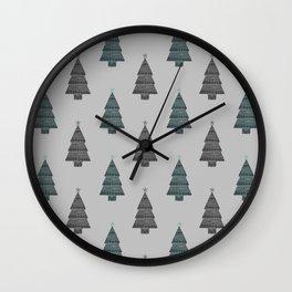 ornamental! green sm. Wall Clock