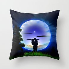 Love is infinite. Throw Pillow