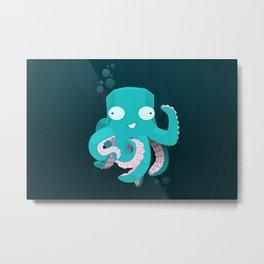 Kraken Metal Print