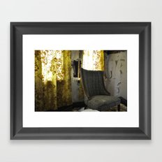 Where have you been? Framed Art Print