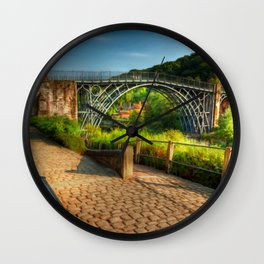 The Iron Bridge 1779 Wall Clock
