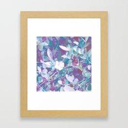 Color Garden Framed Art Print