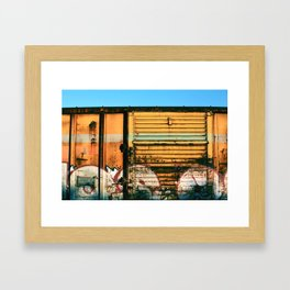 Box Car Porn Framed Art Print