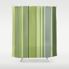 Untitled 2018, No. 10 (Forest Palette IV) Shower Curtain