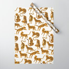 Tiger Collection – Orange Palette Wrapping Paper