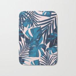 Tropical Jungle Leaves Pattern #6 #tropical #decor #art #society6 Bath Mat