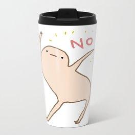 Honest Blob Says No Metal Travel Mug