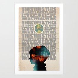 Art That Helps Collaboration Print Art Print