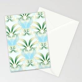 Pineapple Welcome Abstract #215 Stationery Cards